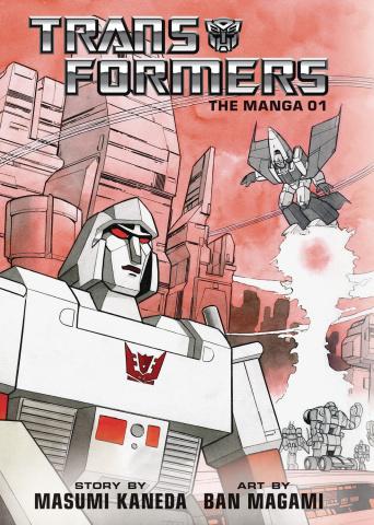 The Transformers: Classic TV Magazine Manga Vol. 1