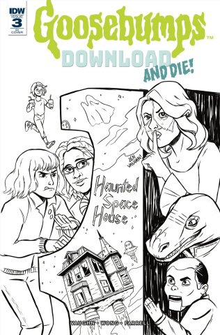 Goosebumps: Download and Die! #3 (10 Copy Cover)