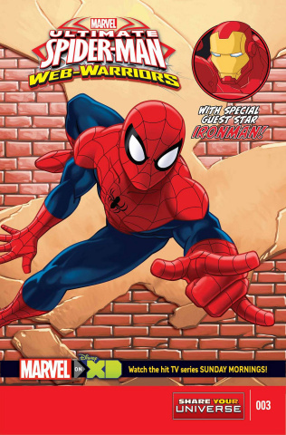 Ultimate Spider-Man: Web Warriors #3