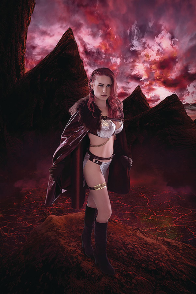 Red Sonja: Age of Chaos #3 (30 Copy Kingston Cosplay Virgin Cover)