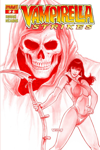 Vampirella Strikes #2 (High End Neves Red Ultra Limited Cover)