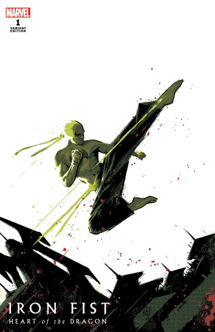 Iron Fist: Heart of the Dragon #1 (Aja Cover)