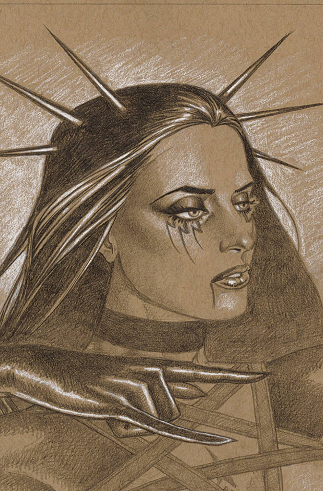 Tarot: Witch of the Black Rose #123 (Litho Edition)