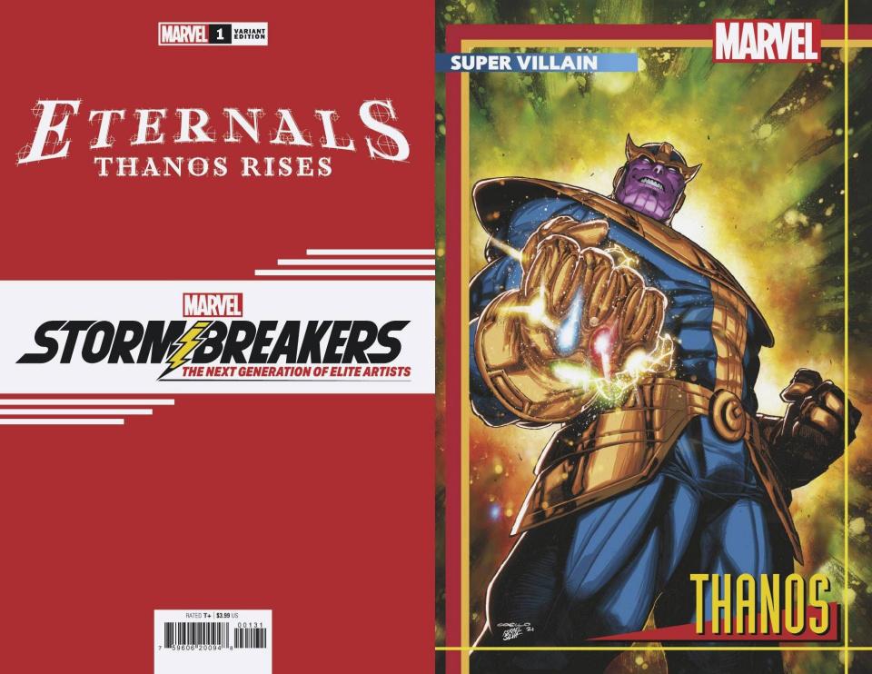 Eternals: Thanos Rises #1 (Coello Stormbreakers Cover)