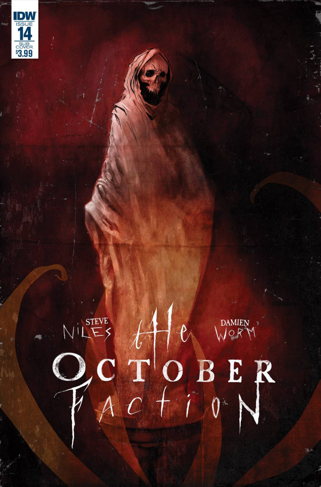 The October Faction #14 (Subscription Cover)