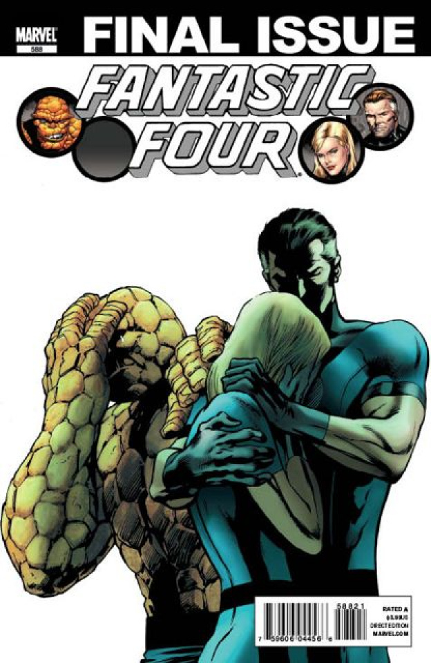 Fantastic Four #588 (2nd Printing)