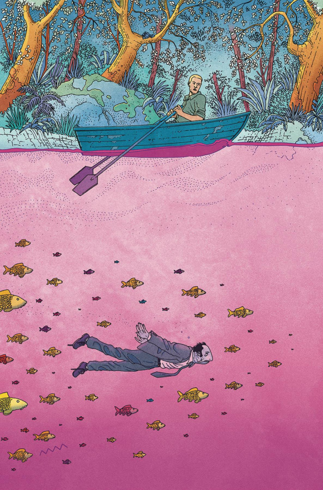 King of Nowhere #3 (Morazzo Cover)