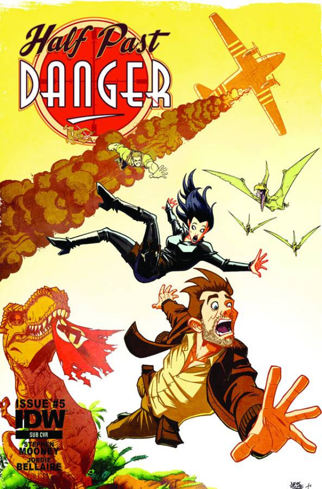 Half Past Danger #5 (Subscription Cover)