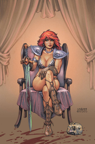 Red Sonja #24 (Linsner Virgin Cover)