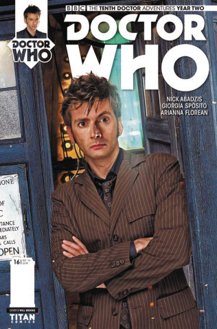 Doctor Who: New Adventures with the Tenth Doctor, Year Two #16 (Photo Cover)