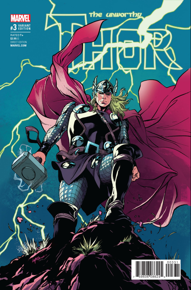 The Unworthy Thor #3 (Lupacchino Cover)