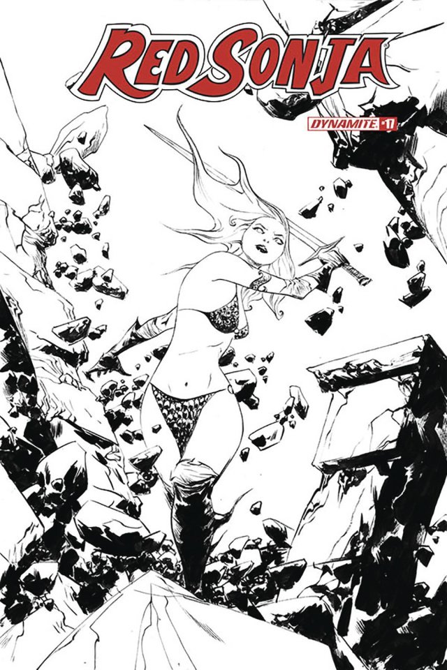 Red Sonja #17 (30 Copy Lee B&W Cover)
