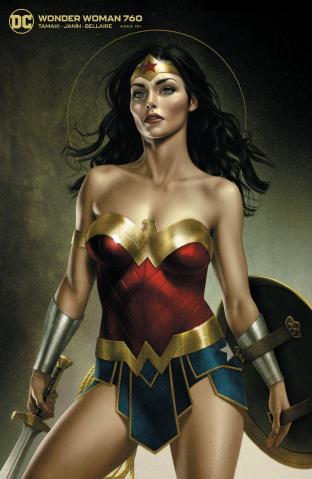 Wonder Woman #760 (Joshua Middleton Card Stock Cover)