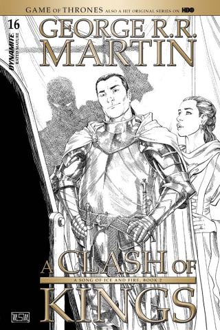 A Game of Thrones: A Clash of Kings #16 (10 Copy Miller B&W Cover)