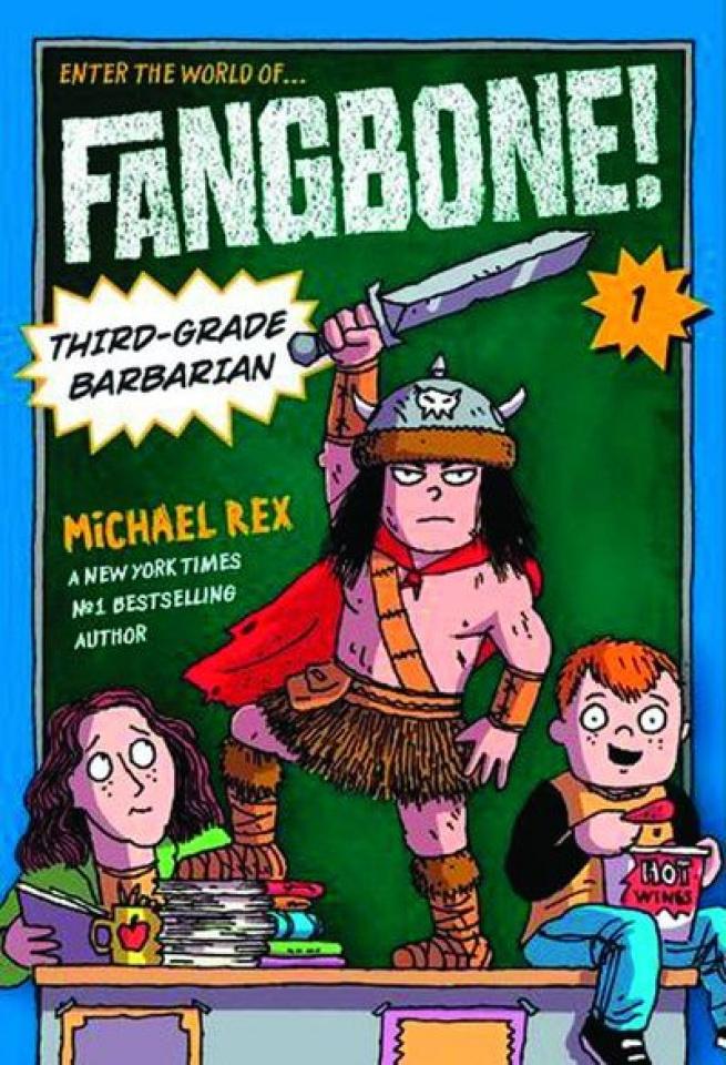 Fangbone! Third-Grade Barbarian Vol. 1