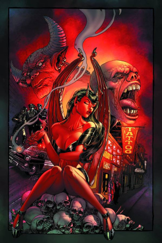 Purgatori #3 (Rare Chin Virgin Art Cover)