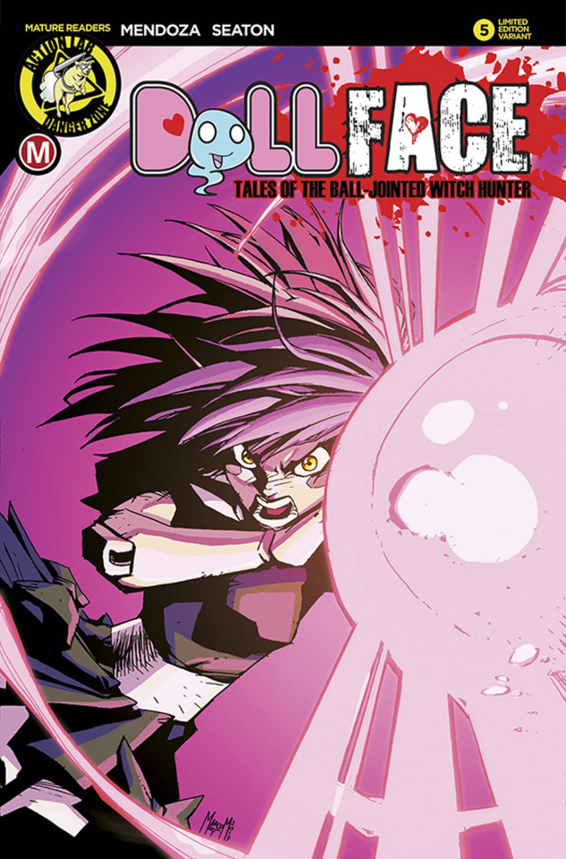 Dollface #6 (Maccagni Pin Up Cover)