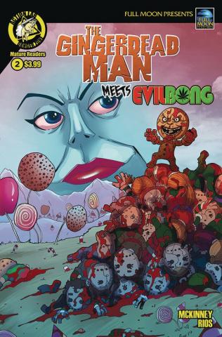 The Gingerdead Man Meets Evil Bong #2 (Rios Cover)