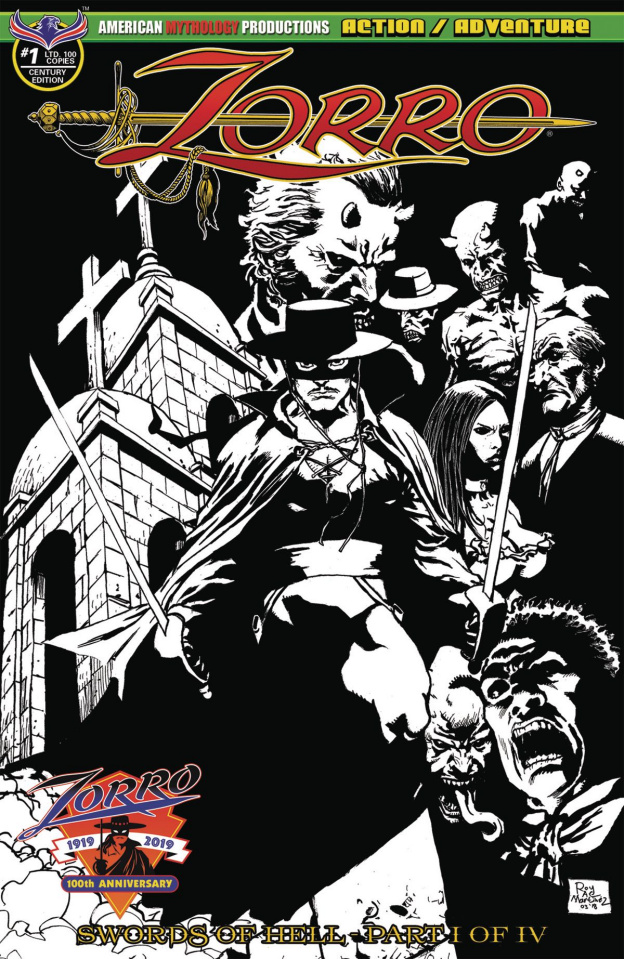 Zorro: Swords of Hell #1 (Century Edition Cover)
