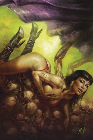 Vampirella #9 (Parrillo Virgin Cover)