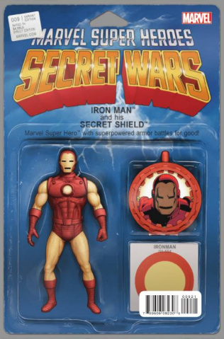 Secret Wars #9 (Christopher Action Figure Cover)