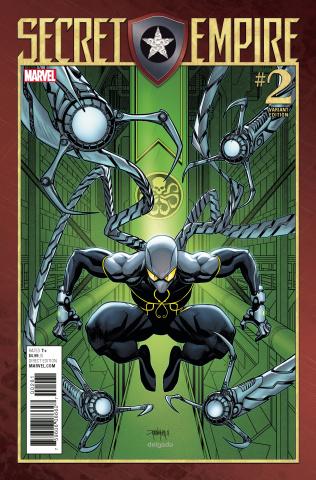 Secret Empire #2 (Mora Villain Cover)