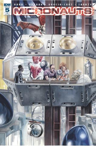 Micronauts #5 (25 Copy Cover)