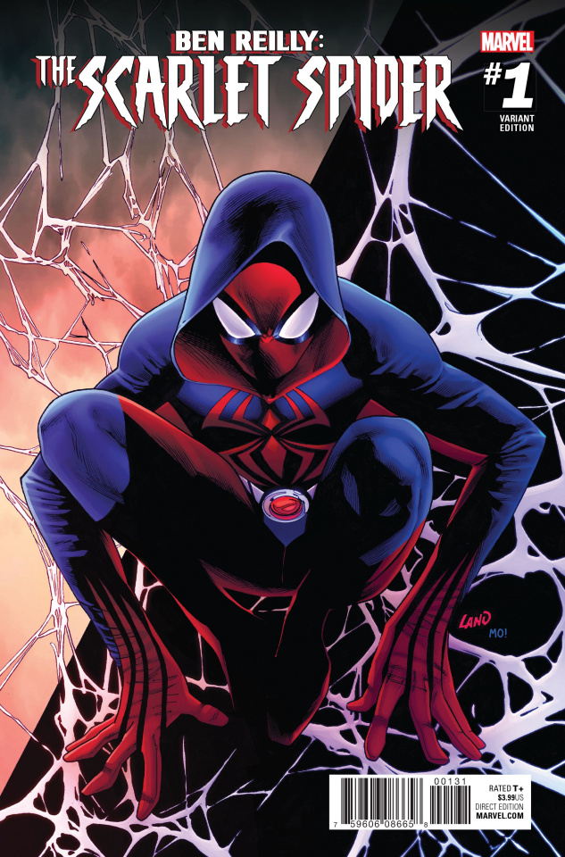 Ben Reilly: The Scarlet Spider #1 (Land Cover)