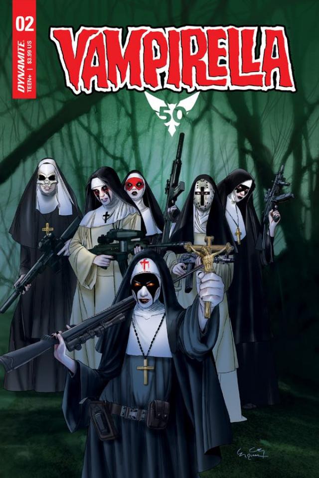 Vampirella #2 (Gunduz Cover)