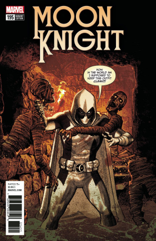 Moon Knight #195 (Smallwood Deadpool Cover)