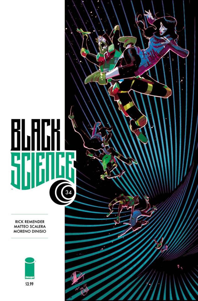 Black Science #34 (Scalera & Dinisio Cover)