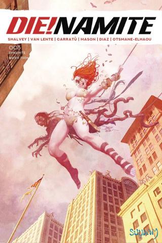 DIE!namite #3 (Suydam Homage Spider-Man Zombie Cover)