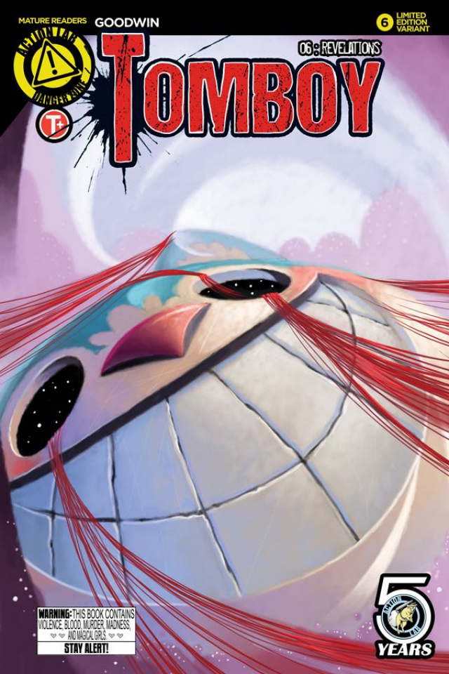Tomboy #6 (Thesen Cover)