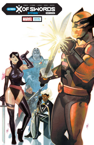X of Swords: Stasis #1 (Del Mundo Cover)