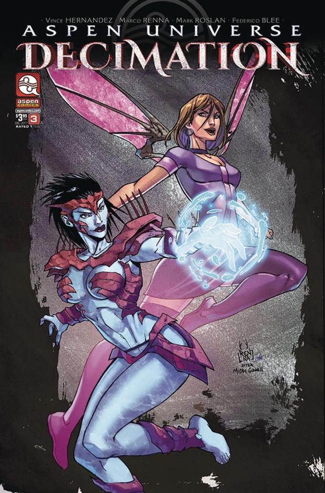 Aspen Universe: Decimation #3 (Renna Cover)