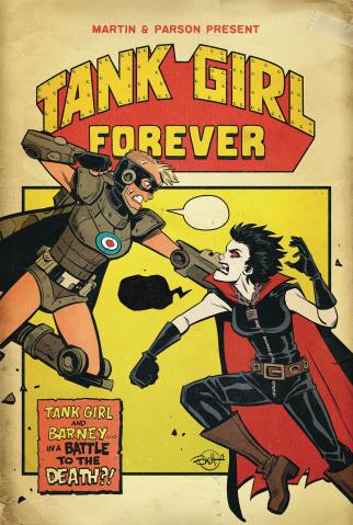 Tank Girl #5 (Parson Cover)
