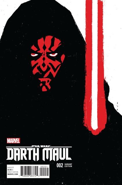 Star Wars: Darth Maul #2 (Aja Cover)