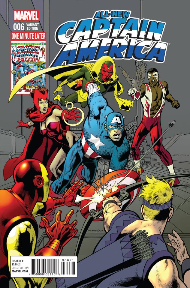 All-New Captain America #6 (Avengers Cover)