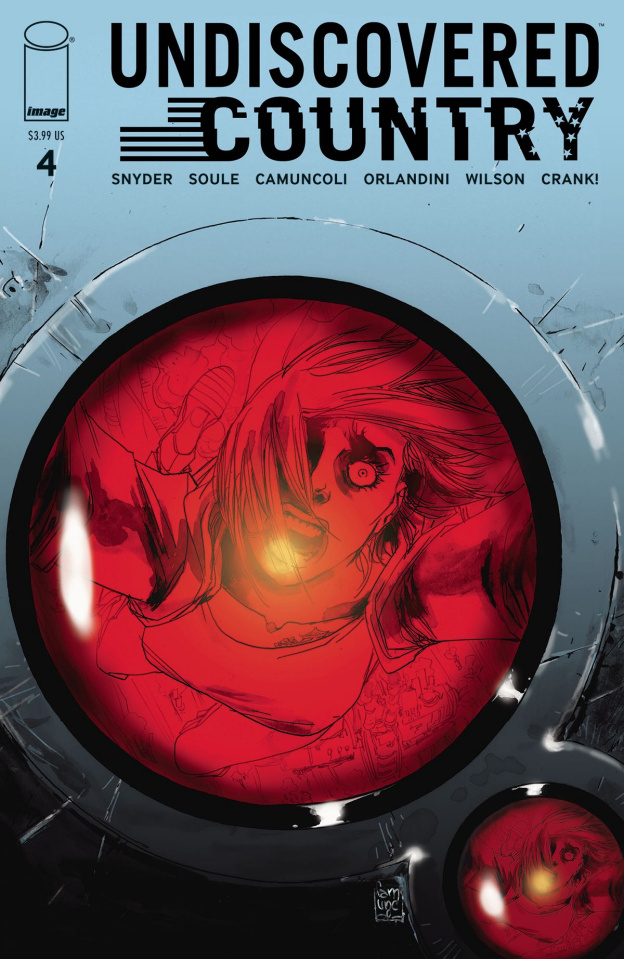 Undiscovered Country #4 (Camuncoli Cover)