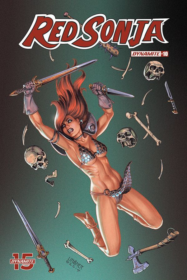 Red Sonja #10 (Linsner Cover)