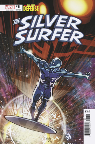 The Defenders: The Silver Surfer #1 (Ferry Cover)