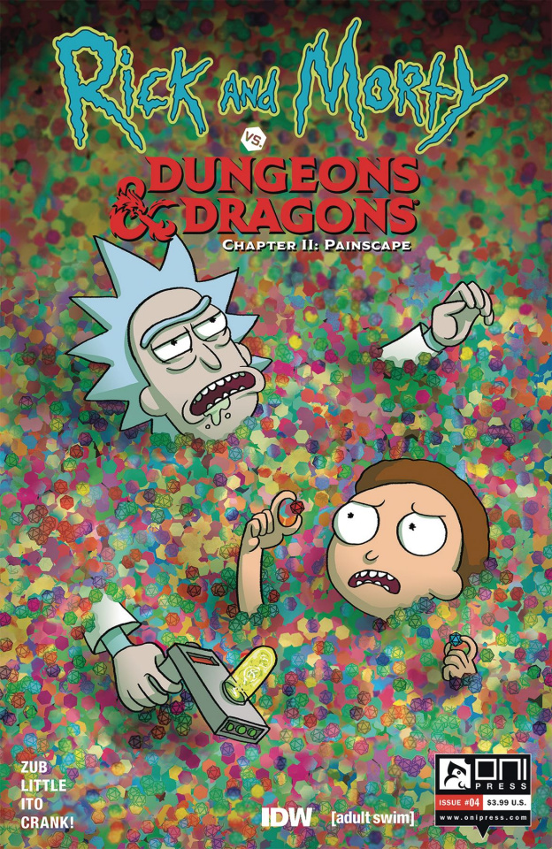Rick and Morty vs. Dungeons & Dragons II: Painscape #4 (Wells Cover)