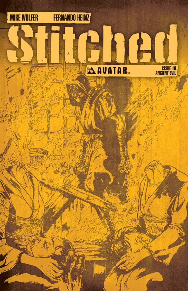 Stitched #16 (Ancient Evil Cover)