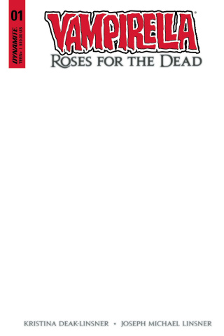 Vampirella: Roses for the Dead #1 (Blank Authentix Cover)