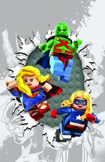 Justice League United #6 (Lego Cover)
