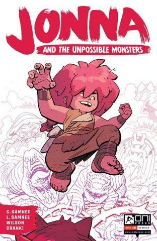 Jonna and the Unpossible Monsters #1 (2nd Printing)