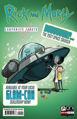 Rick and Morty: Corporate Assests #2 (Lee Cover)