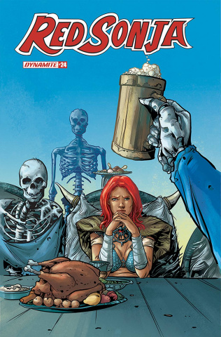 Red Sonja #24 (Colak Cover)