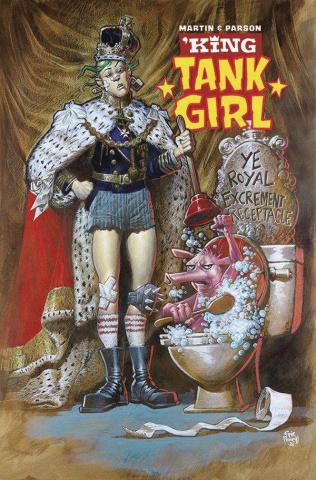 King Tank Girl #1 (Powell Cardstock Cover)