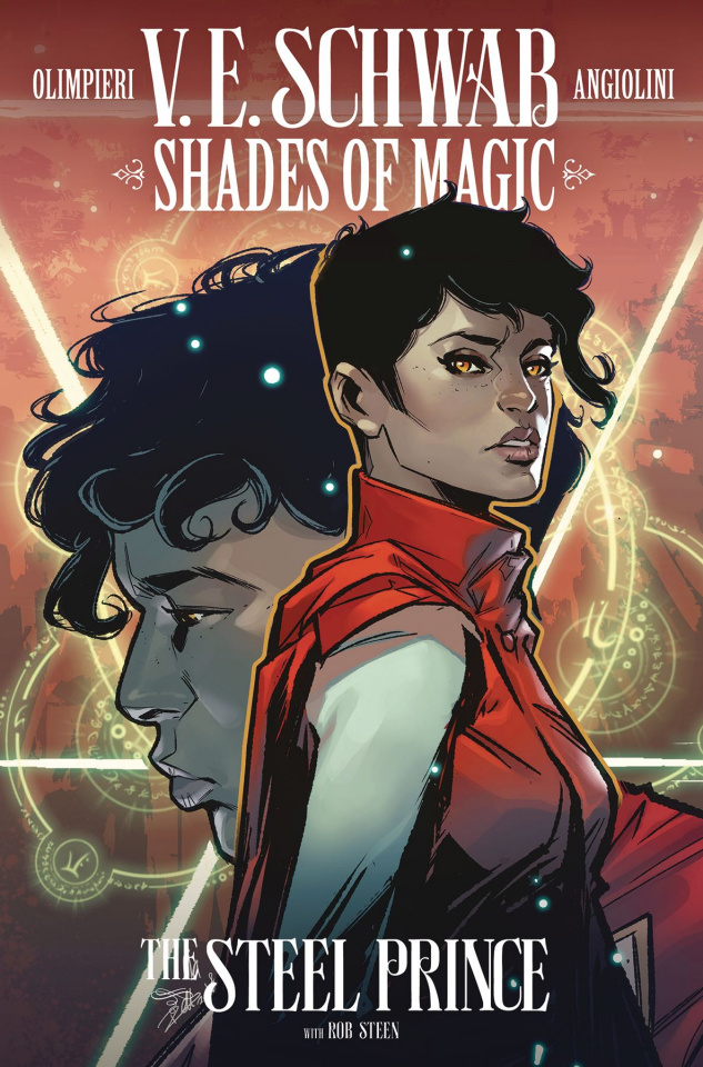 Shades of Magic #4 (Steel Prince Ingranata & Sahadewa Cover)